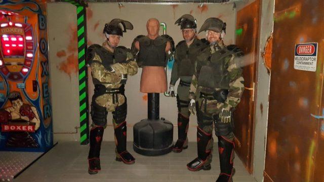 Strasbourg Dooz Escape game équipement team