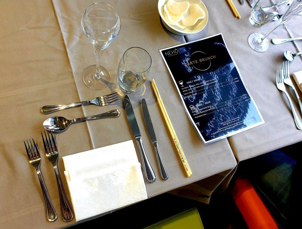 Hôtel Roi Soleil Prestige brunch salle