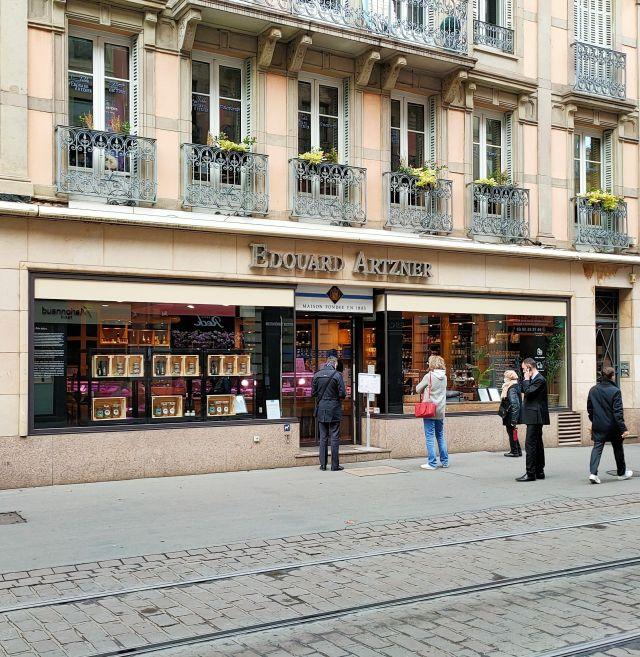 Maison Artzner Plats traiteur épicerie fine Strasbourg facade