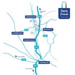 Shopping Promenade Coeur Alsace Vendenheim Reichstett plan acces