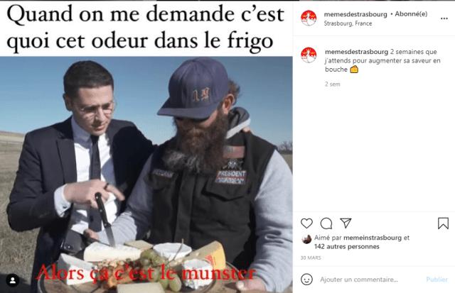 meme strasbourg instagram