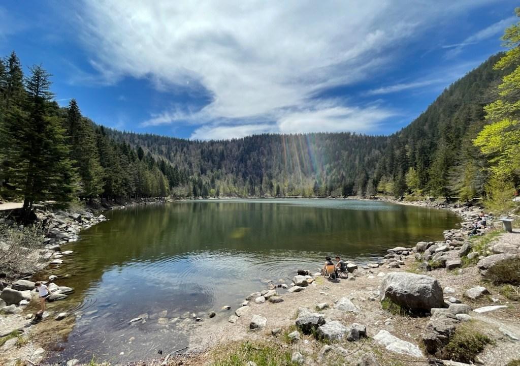 Lac des Corbeaux La Bresse Vosges balade randonnée