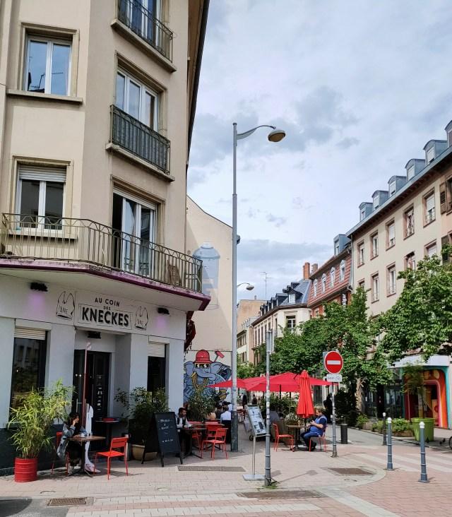 Au coin des Kneckes terrasses Strasbourg mai 2021