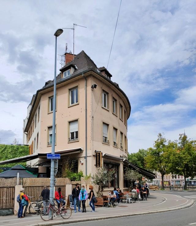 Abattoir Café terrasses Strasbourg mai 2021