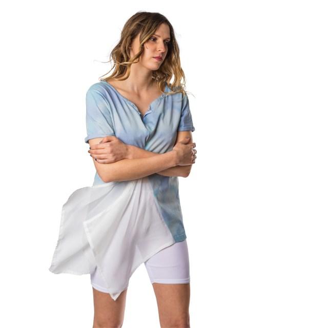R-Empreinte startup alsacienne upcycling mode t-shirts femme