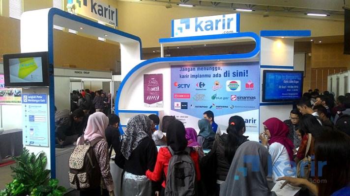 Pengunjung Karir.com Expo Malang