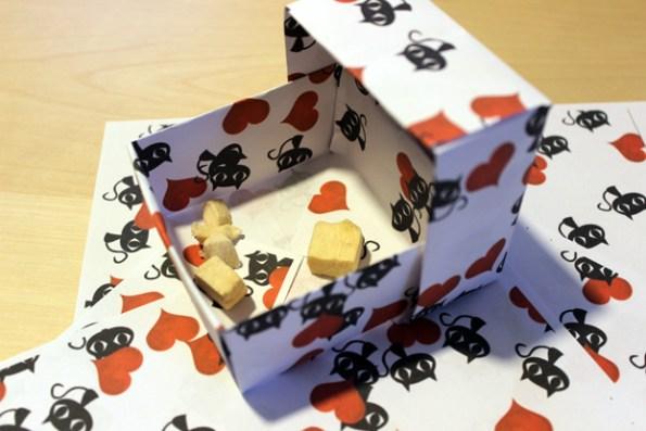 Papierbox Leckerlies