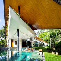 The Winged House | Nhà ở Singapore - K2LD Architects