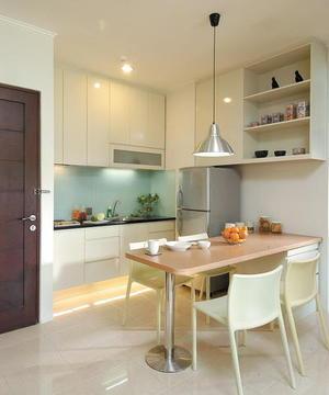 dapur mungil di rumah mungil