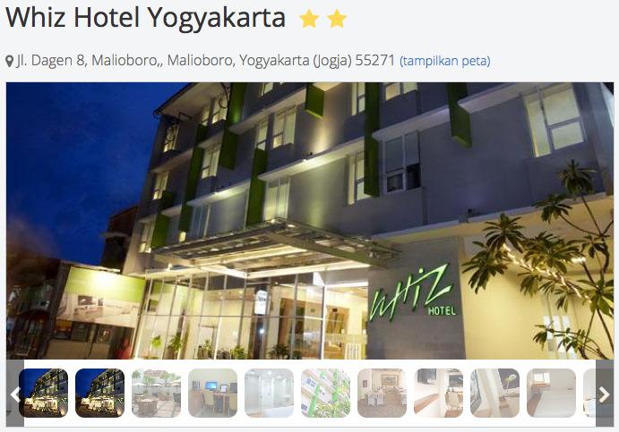 tarif whiz hotel yogyakarta