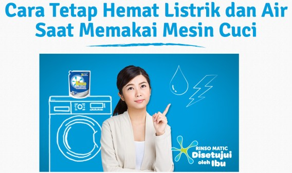 Hemat Listrik Hemat Air Mesin Cuci Rinso