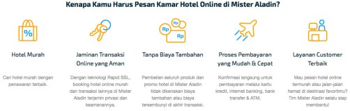 Booking Hotel Murah Booking Hotel Online Travel Guide Mister Aladin