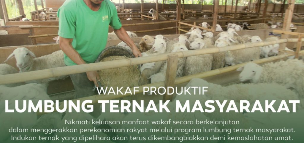 Wakaf Produktif Lumbung Ternak Masyarakat