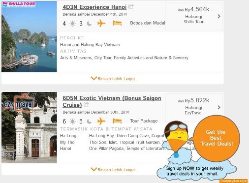 Paket Tour Hanoi