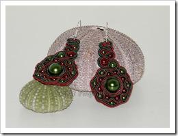 , Czerwono-zielone serpentynki – soutache