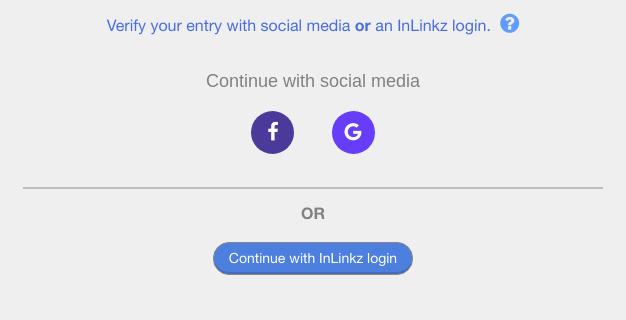 inLinkz - logowanie