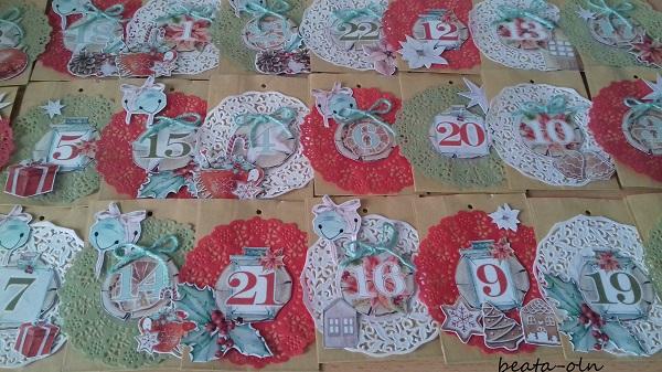 kalendarz adwentowy, 10 pomysłów na kalendarz adwentowy