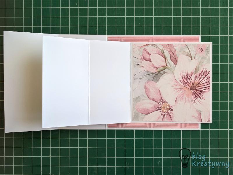 kartka potrójnie sztalugowa, Kartka potrójnie sztalugowa  (Triple easel card) – TUTORIAL