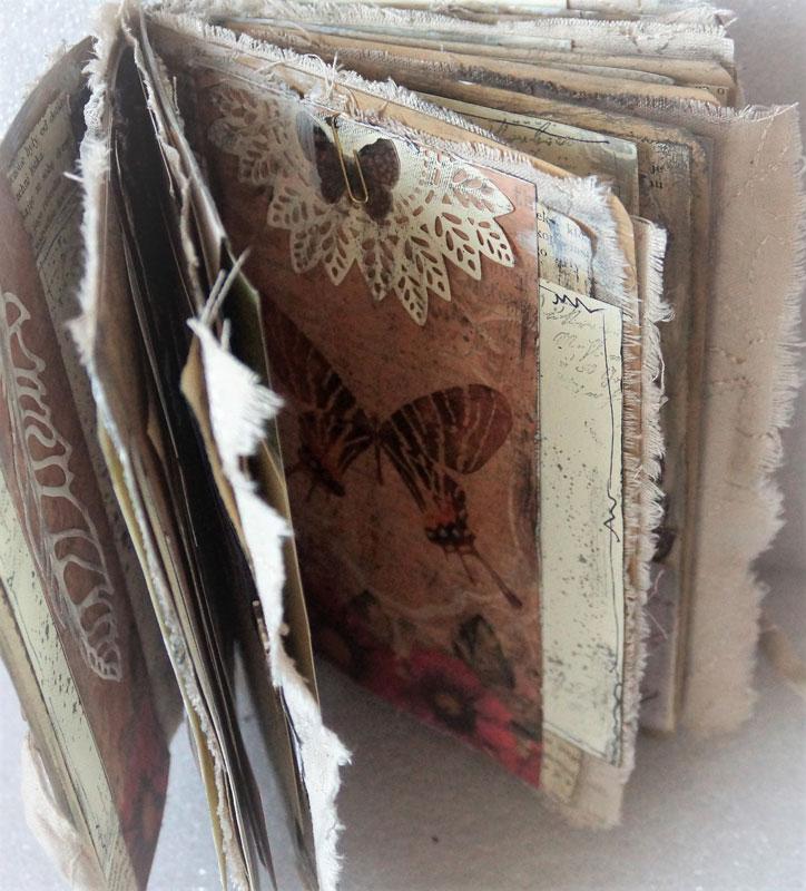 junk journal - skrytka