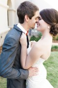 Fall Bride and Groom Southern Wedding