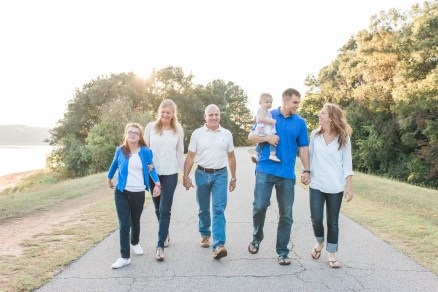 Fall Family Session Clemson South Carolina