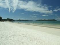 Południe plaży Cenang