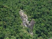 Rzeczony wodospad w dżungli