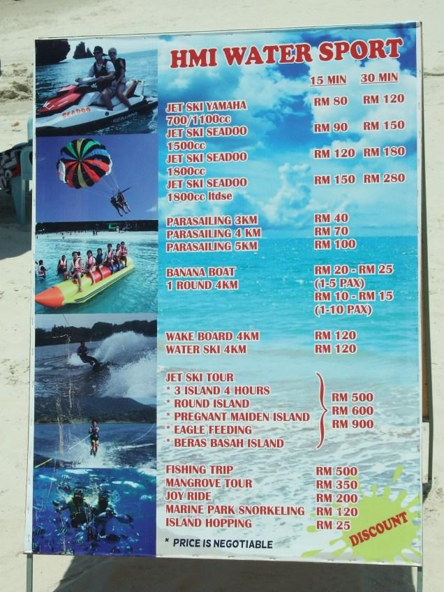 Ceny zabaw plażowych.