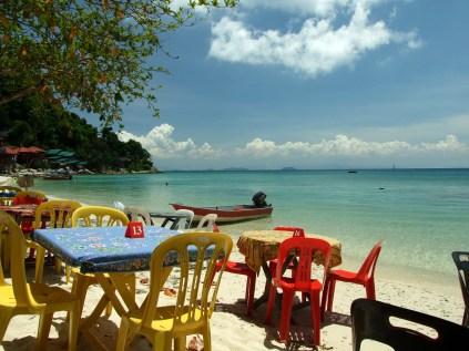 Widok na Coral Bay
