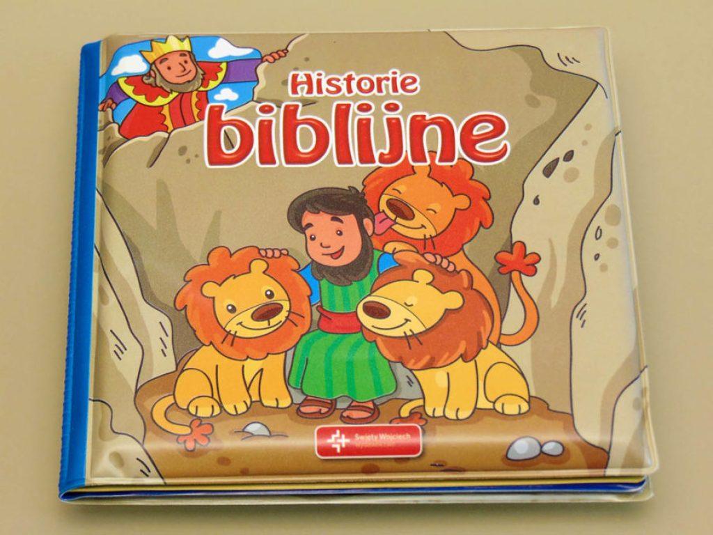 książeczki do kąpieli historie biblijne