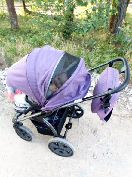 wózek dziecięcy siatka x-lander