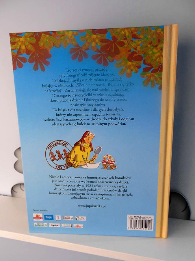 trojaczki książka dla dzieci