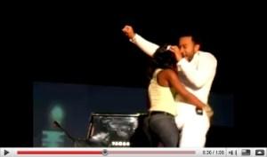 John Legend - Boner on stage