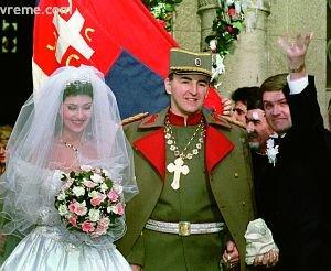 Svetlana Velickovic Ceca & Zeljko Raznatovic Arkan
