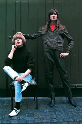Brian Jones & Françoise Hardy (1965)