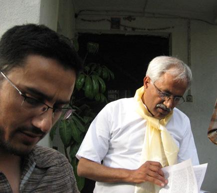 Dinesh Wagle and Narahari Acharya