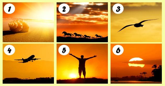 Válassz egy képet és nézd meg mit árul el rólad!