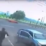 Kísérteties videó: így lép ki a halálra gázolt nő lelke a testéből