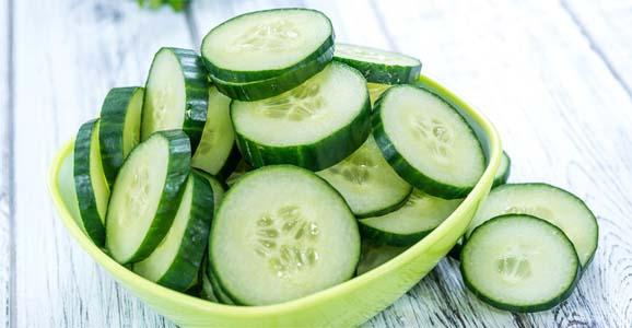 fogyás uborka használatával
