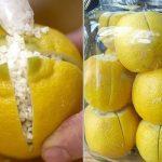 Vágd be 4 oldalán a citromot, majd tegyél tengeri sót közé. Zseniális ötlet, kár, hogy sokan nem ismerik!