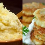 Maradt egy kis burgonyapüré, ez az ügyes háziasszony reszelt sajtot kevert hozzá és fenséges ebédet készített belőle!