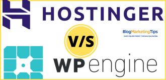 WP Engine Vs Hostinger