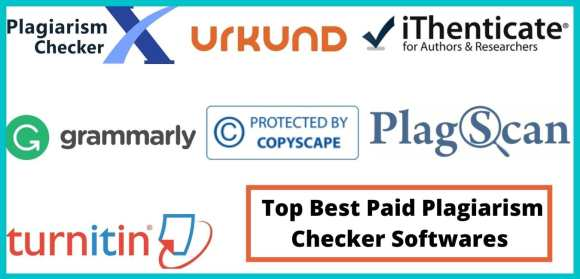 Top Best Paid Plagiarism Checker Softwares