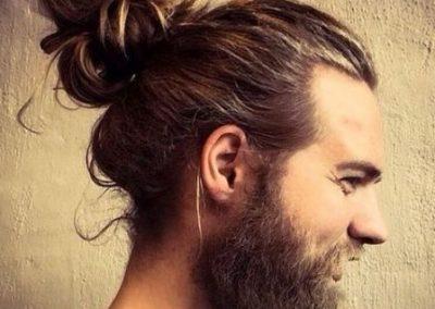 corte de pelo largo hombre