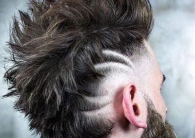 peinado de hombre mohicano