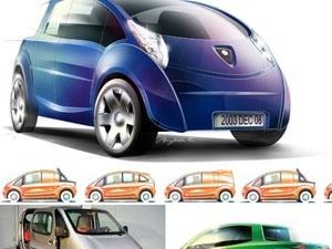 191bc 01 aircar air powered car zero pollution motor tata motors hit 1000 miles Air powered car Automobile Engineering