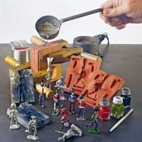 01- Hobby aluminum casting – CO2 Sand Casting process