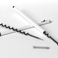 01-Spiral Ink refill-Ink Refill-Ball Point pen refills-double ink capacity ball point pens-double helix pen-spiral pen tubes