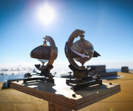 01-Sunshine Recorder - solar radiation measurement - radiation measurements