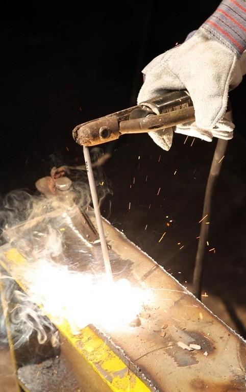 01-Smaw-Shielded Metal Arc Weding Process - Stick Arc Welding